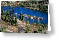 Lila Lake Greeting Card