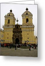 Lima Peru Church Greeting Card