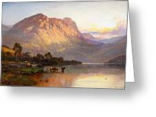 Loch Lomond And A Trout Stream Greeting Card