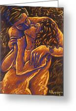 Los Amantes The Lovers Greeting Card