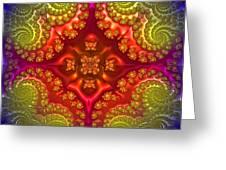 Mandala For Awakening The Creative Energy Greeting Card