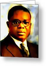 Marcus Garvey Greeting Card
