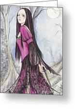 Mis Witch  Greeting Card