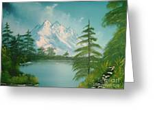 Mountain High Greeting Card