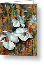 Orchid Yo Greeting Card