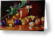 Pail Of Plenty Greeting Card