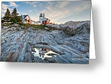 Pemaquid Point Reflection Greeting Card