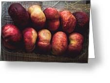 ... Pesche Tabacchiere ... Greeting Card