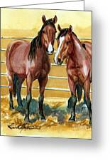 Pick Up Day Greeting Card by Linda L Martin