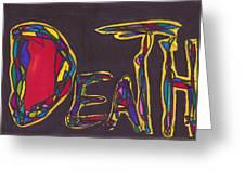 Pillar Of Death Greeting Card