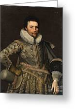 Portrait Of A Nobleman Greeting Card