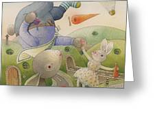 Rabbit Marcus The Great 05 Greeting Card