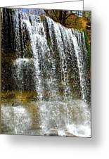 Rock Glen Falls Iphone 6s Greeting Card