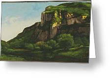 Rocks At Mouthier Greeting Card
