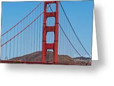 San Fransisco Bay Bridge Greeting Card