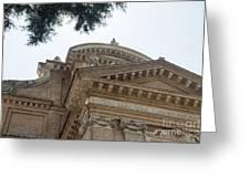 Sancti Pauli Ad Aquas Salvias Greeting Card
