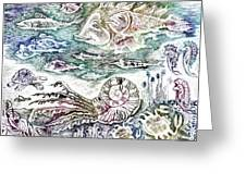 Sea World Greeting Card