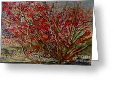 Song Of Autumn  Greeting Card
