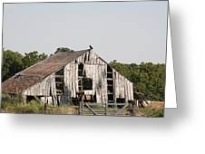 South Of Moberly Greeting Card