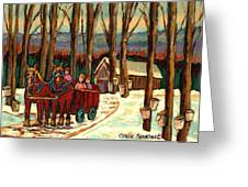 Sugar Shack Greeting Card