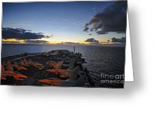 The Aircraft Carrier Uss Nimitz Greeting Card