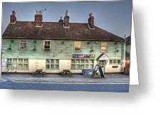 The Bricklayers Arms New Hythe Greeting Card