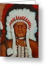 The Chief Greeting Card