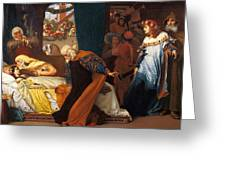 The Feigned Death Of Juliet  Greeting Card