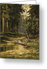 The Forest Brook Greeting Card
