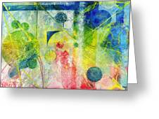 Transition Point Tria Greeting Card
