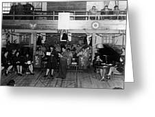 Uso Show May 5 1944 Black White 1940s Archive Greeting Card