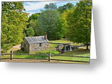 Village Blacksmith Shop Greeting Card