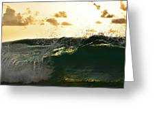 Wave Tube Greeting Card