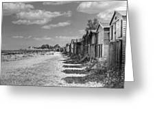 Whitstable Huts Greeting Card