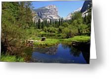 @ Yosemite Greeting Card