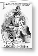 Pears' Soap Ad, 1887 Greeting Card