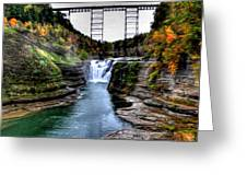 0032 Letchworth State Park Series  Greeting Card