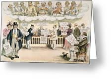 Foolish Forefathers, 1894 Greeting Card