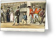 Paris Occupation, 1814 Greeting Card