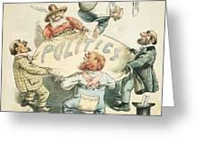 U.s. Cartoon: Businessman Greeting Card