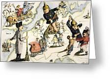 Europe: 1848 Uprisings Greeting Card