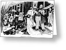 Press Cartoon, 1912 Greeting Card
