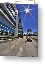 01 Conventus Medical Building On Main Street Greeting Card