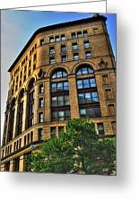 01 Dunn Building At Sunrise Greeting Card
