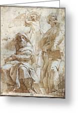 Raphael: Study, C1510 Greeting Card