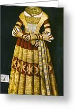 Katharina Von Mecklenburg Greeting Card by Granger