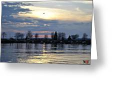 013 April Sunsets Greeting Card