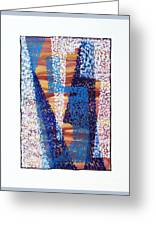 01325 Blue Too Greeting Card