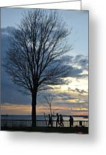 015 April Sunsets Greeting Card