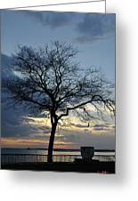 016 April Sunsets Greeting Card